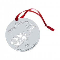 Ornament - Santa Sled