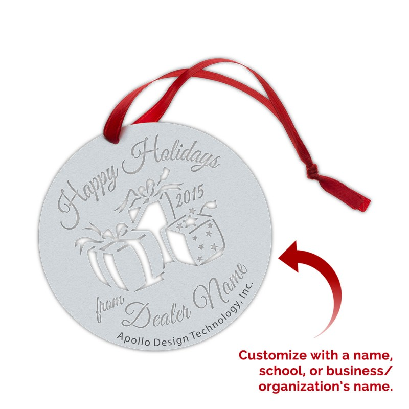 Customized Gobo Ornaments - Gifts