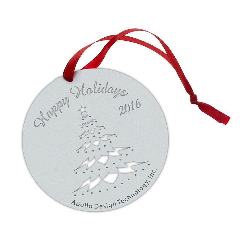 Gobo Ornament - Festive Tree