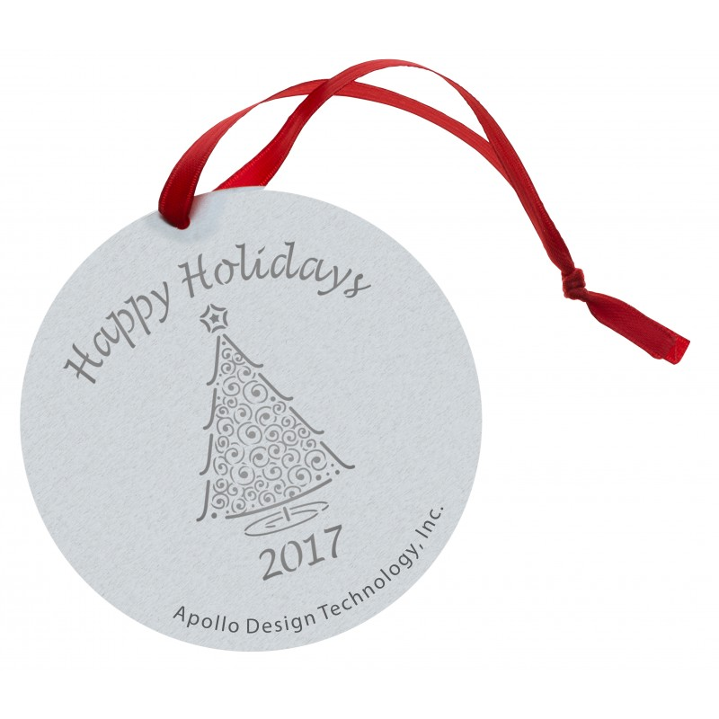 Christmas Gobo Ornament - Very Merry Christmas Tree