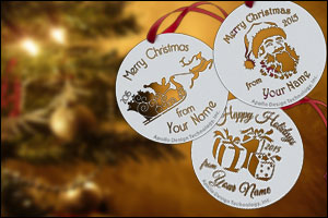 Create a new tradition with a gobo ornament!